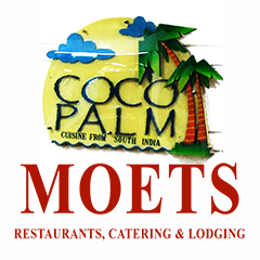 Moets Coco Palm, MG Road, MG Road logo