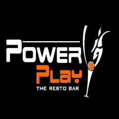 Power Play Resto Bar, MG Road, MG Road logo