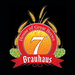 7 Degrees Brauhaus, Golf Course Road, Golf Course Road logo