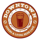 Downtown - Diners & Living Beer Cafe, Sector 29, logo