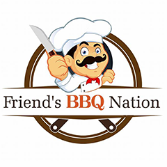 Friend'S Bar-Be-Que Nation, The Mall Road, The Mall Road logo
