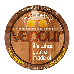 Vapour Pub and Brewery, MG Road, MG Road logo